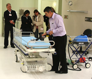 Practical healthcare touchpoint cleaning workshops